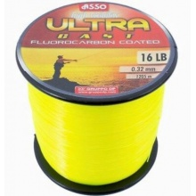 ASSO ULTRA CAST 1000m FLUO ŻÓŁTA 0,30mm 7,5kg