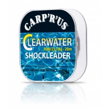 Carp\'R\'Us - Clearwater Shockleader 50lb 30m