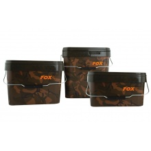Fox CAMO SQUARE BUCKETS 10L - Wiadro