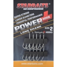 HACZYK STARBAITS POWER HOOK LONG SHANK SIZE 2