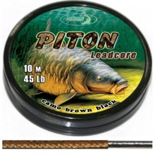 KATRAN PITON camo brown 35lb 10m leadcore