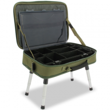 NGT Deluxe Anglers Box Case System (612)  Walizka ze stolikiem