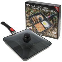 NGT Multi Section Frying Pan With Lid Patelnia