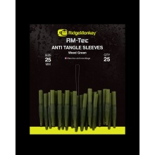 RidgeMonkey- Anti Tangle Sleeves 25mm Weed Green short