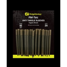 RidgeMonkey- Anti Tangle Sleeves 45mm Organic Brown long